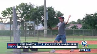 West Boynton Beach All-Stars ready for World Series - Video