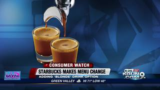 Starbucks menu change could be game-changer to morning coffee routine - Video