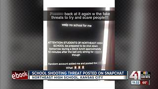 School shooting threat posting on Snapchat originated in another state