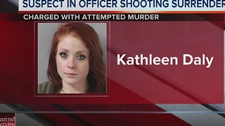 Suspect In Officer-Involved Shooting Surrenders - Video