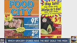 Smart Shopper: Best grocery deals for the week of January 10th - Video