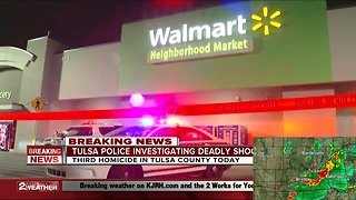 Tulsa Police investigating third homicide of the day in Tulsa County