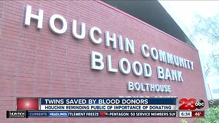 23ABC Community Connection: Houchin Blood Bank reminding public of the importance of donating