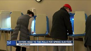 Votes head to the polls for spring election in Wisconsin - Video