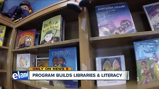 Program builds libraries and literacy - Video