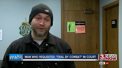 """Man Who Requested """"Trial by Combat"""" in Court"""