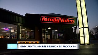 Local Family Video stores now selling CBD products