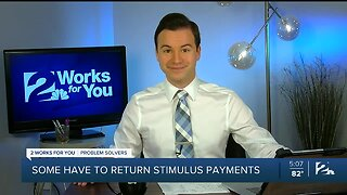 Some have to return stimulus payments