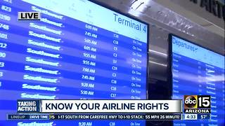 Know your rights if your flight is delayed or canceled - Video