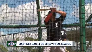 Martinez back for likely final season - Video