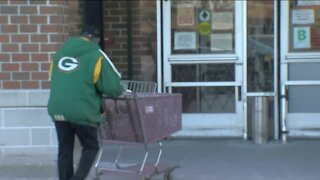 Fans prepare to watch the Packers game at home, with Covid-19 safety precautions in mind