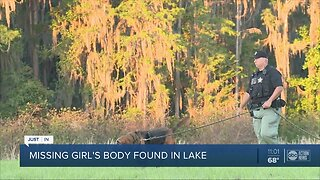 Tampa police locate body of missing 2-year-old girl in lake