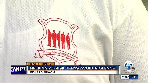 Young Men of Distinction tackles crime in Riviera Beach