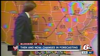 RTV6 Chief Meteorologist talks about the changes in weather forecasting since the blizzard of 1978 - Video