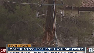 UPDATE: Hundreds remain without power after truck crash - Video