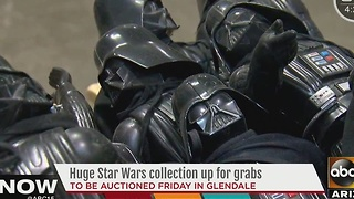 Star Wars memorabilia auction in Glendale - Video
