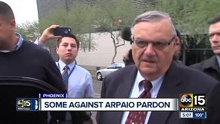 Latino leaders upset after Donald Trumps says he could pardon Joe Arpaio - Video