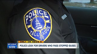 Tallmadge police on patrol for drivers who illegally pass stopped school buses