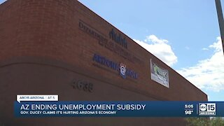 Arizona to end federal unemployment subsidy, Gov. Ducey says it's preventing people from working