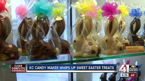 Kansas City candy maker creates sweet Easter treats