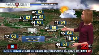 Rain and snow headed to Kern County Thursday night - Video