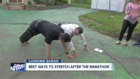 Two important stretches after the Buffalo Marathon
