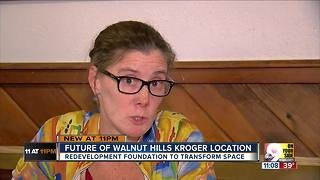 Former Walnut Hills Kroger slated for redevelopment - Video