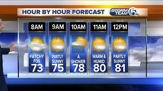 South Florida Tuesday morning forecast (1/1/19)