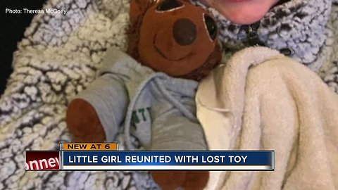 Trolley driver reunites little girl with stuffed animal lost on Anna Maria Island