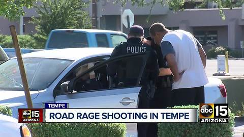 Near miss in Tempe road rage incident