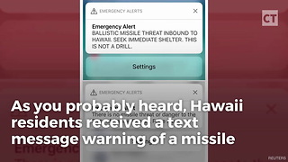 Gov. of Hawaii Couldn't Notify State of False Alarm