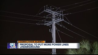 Florida bill would require electric companies to place more power lines underground