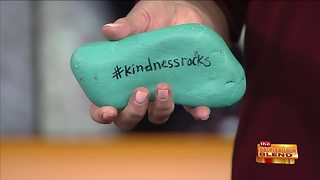 Painting Rocks to Spread Kindness and Joy - Video