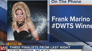 Frank Marino talks Dancing with The Stars finale - Video