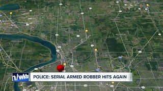 Police: Serial armed robber hits again