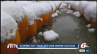 Climate prediction center says it might be a busy winter weather season across Indiana