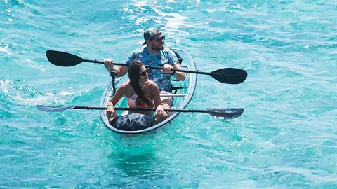Kayak with a view – Glass boat available to buy showcases fascinating sea creatures
