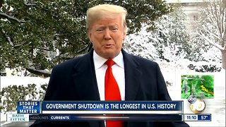 Government shutdown is longest in history