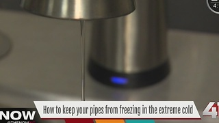 How to keep your pipes from freezing - Video