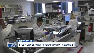 Roswell Park study ties inactivity to cancer - Video