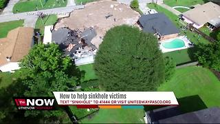 How to help sinkhole victims - Video