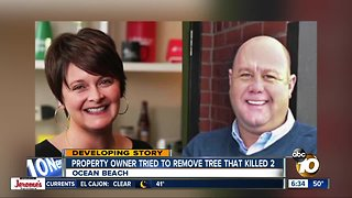 Family remains in disbelief after tree falls, kills married couple