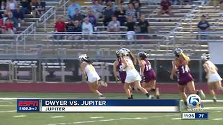 Dwyer at Jupiter Girls Lacrosse