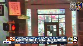 Officers involved in 7-Eleven shootout, suspects on the run - Video