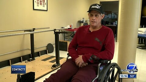 'I wasn't noticing the pain anymore': Denver man sets sights on future after losing leg to frostbite