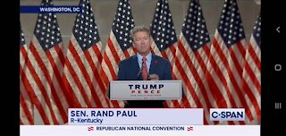 Rand Paul at the Republican National Convention