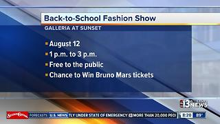 Galleria at Sunset hosts Back-to-School Fashion Show - Video