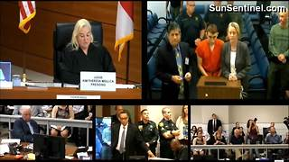 Florida high school mass shooting suspect makes first court appearance - Video
