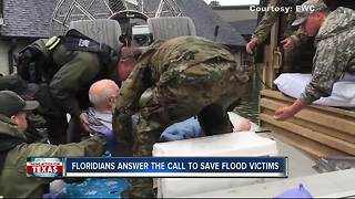 Floridians' heroic rescues in Texas - Video