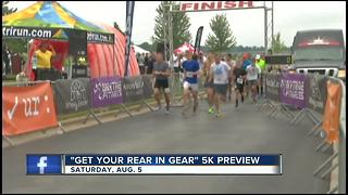 """Get Your Rear in Gear 5K"" raising colon cancer awareness - Video"
